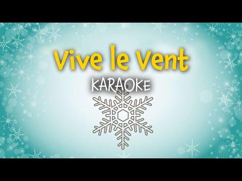 Vive le vent (Jingle Bells) | Chansons de Noël en français (karaoke)