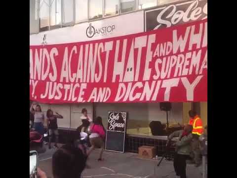 Crowd in Downtown Oakland turn up to Nia Wilson's song