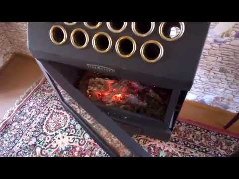печь камин Термофор гармошка INOX беспроигрышный вариант для дачи
