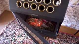 печь камин Термофор гармошка INOX беспроигрышный вариант для дачи(Печь камин ТЕРМОФОР гармошка INOX., 2015-04-14T01:54:25.000Z)