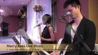 Merry Bees Live Music - Phoebee sings You & Me (cover by Lifehouse) *Singapore Wedding Singers*
