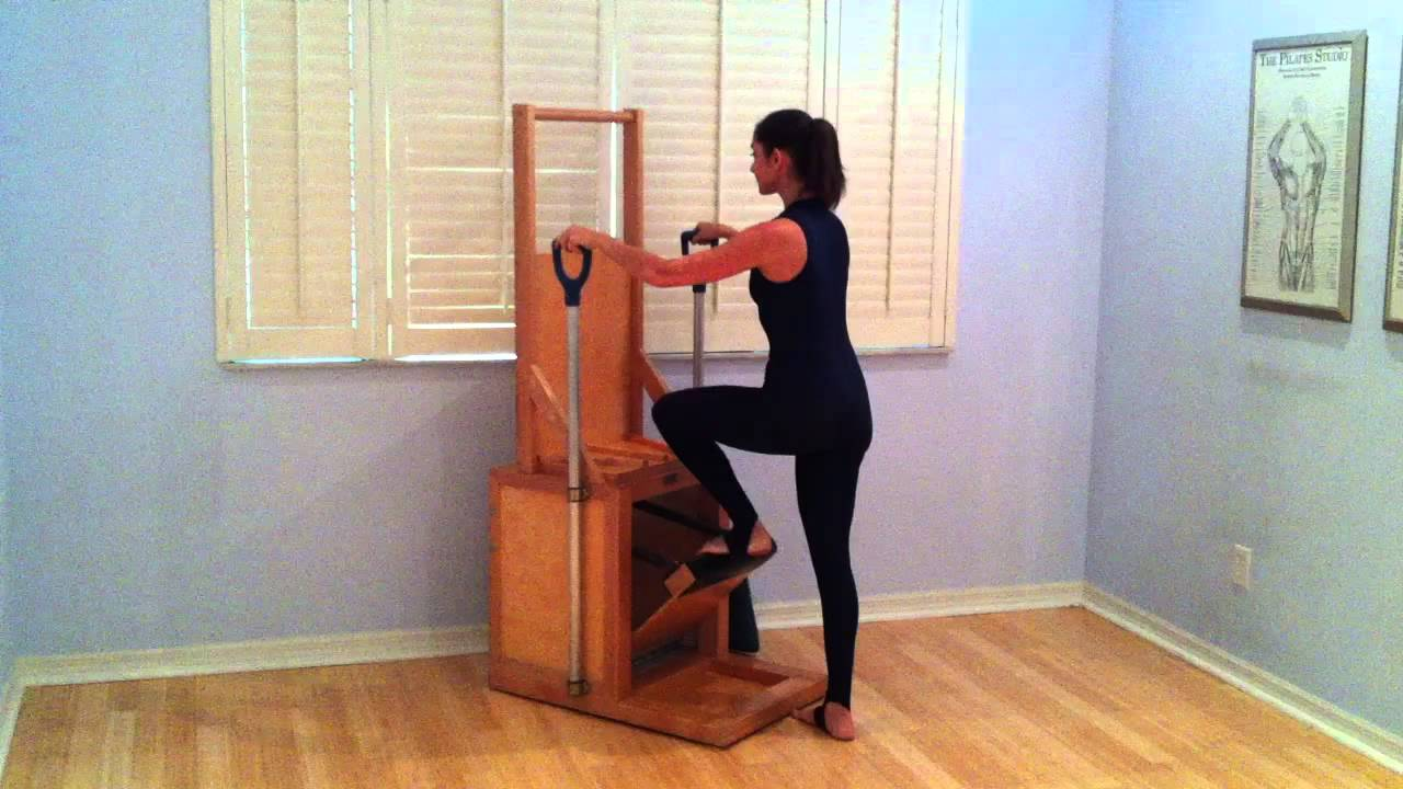 Chair Stuhl Pilates Electric Chair Performed In Sarasota, Florida By