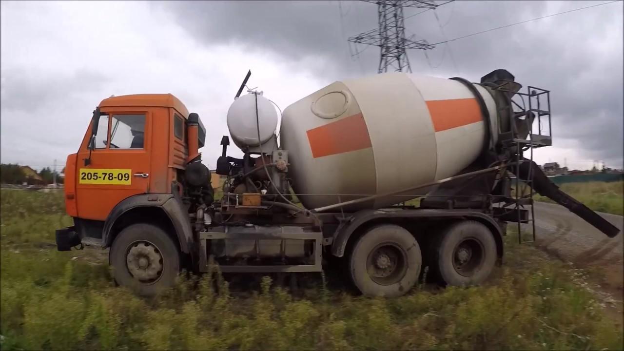 миксер бетона камаз