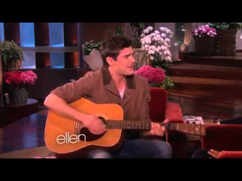 Zac efron sings for ellen for her birthday
