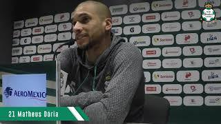 embeded bvideo Rueda de Prensa: Matheus Dória - 13 Febrero