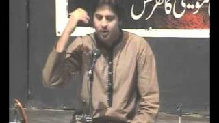 Hassan Maqsood President of NAMS GCU Lahore PERFORMANCE BAWA in APMC 2011.MPG