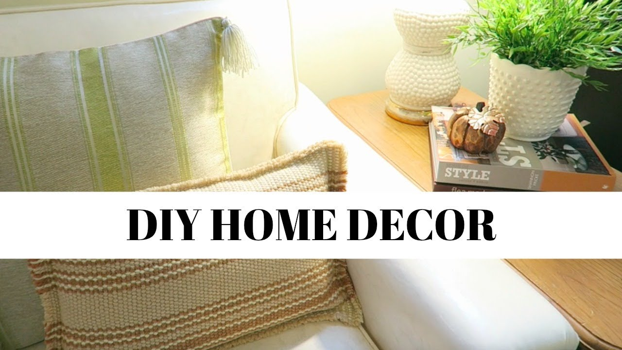 Money Saving Room Decor Ideas | Anthropologie Dupe Pillows | Look For Less