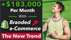 My Branded Shopify Store CASE STUDY 180k Per/mo. How To Start a Branded Shopify Store in 2019.