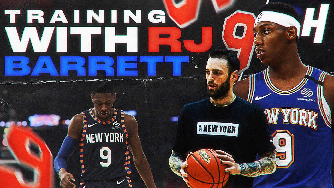RJ Barrett Trains With NBA Skills Coach Chris Brickley   HOH Virtual Camps
