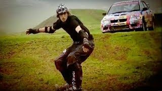 Skater VS Richard Hammond | Top Gear