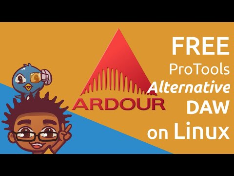 Free ProTools Alternative on Linux - Installing Ardour