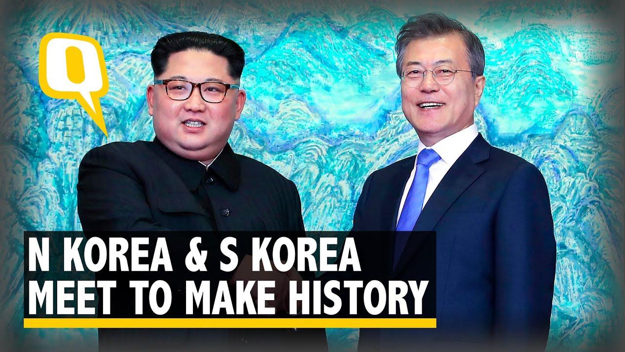 N korean leader kim jong un s korean president moon jae in greet n korean leader kim jong un s korean president moon jae in greet each other m4hsunfo
