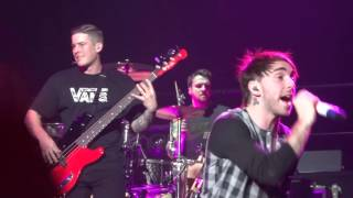 All Time Low live at SSE Hydro Glasgow 15-02-2016 1/4
