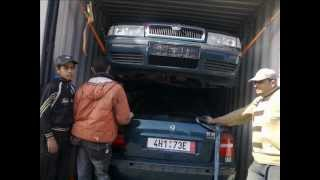 container loading - CAR EXPORT( 5 cars )