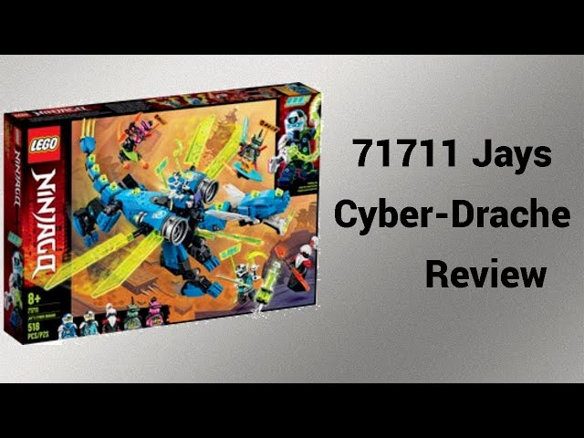 Jay vs Unagami | 71711 Jays Cyber-Drache Review | Rpfreund2014