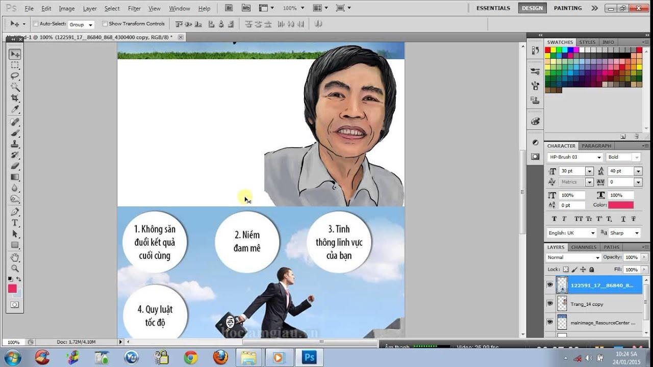 ĐỒ HỌA MARKETING Hướng dẫn làm infographic bằng photoshopcs5