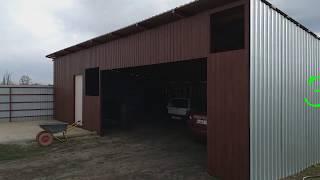 Обзор гаража,весенние хлопоты,новая идея(урна для мусора)