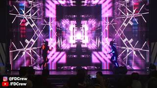 LED DANCE MAPPING DANCE INDONESIA