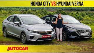 2020 Honda City vs Hyundai Verna - Diesel duel | Comparison | Autocar India