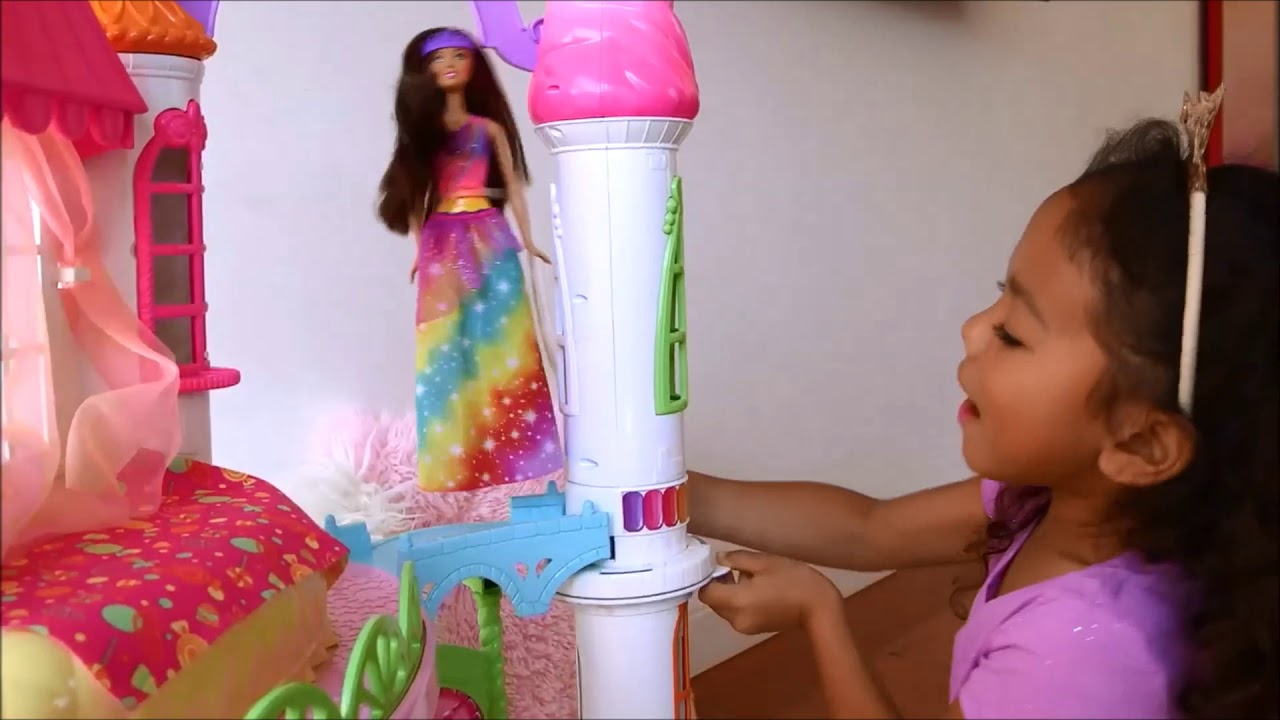 Puppen & Zubehör Barbie Dreamtopia Sweetville Castle