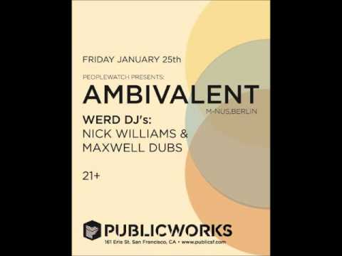 Ambivalent -  Live at Public Works - San Francisco