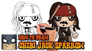 How to Draw Jack Sparrow | Pirates of the Caribbean