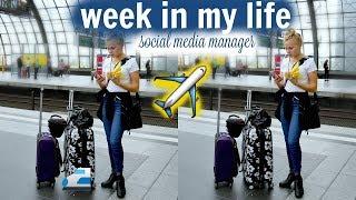 Travel week in my life (social media manager) // Miss Aliana