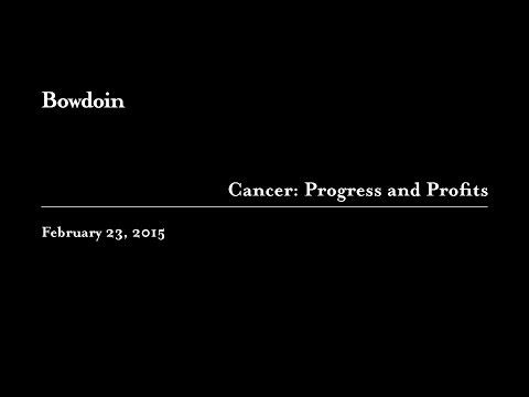 Robert Bazell Gives Talk on Cancer's Progress and Profits - YouTube