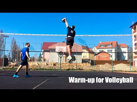 Warm-up for Volleyball