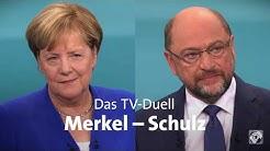 Best of: TV-Duell Merkel gegen Schulz