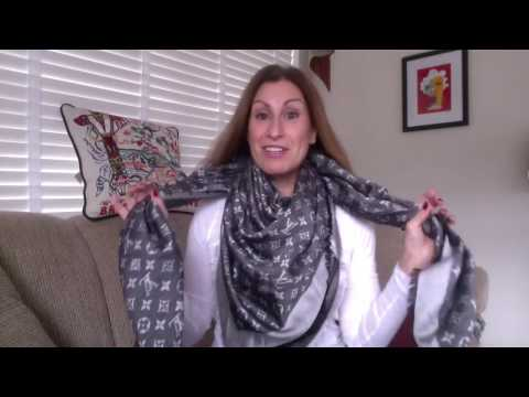 My Designer Scarf Collection| How I Wear Them - 2016