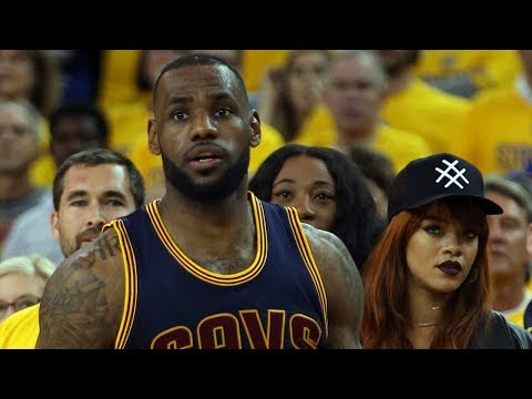 Rihanna Caught THIRSTING After LeBron James, Kevin Durant Stares Her DOWN