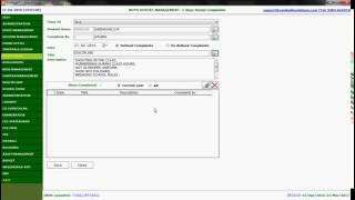 How to record a Complaint in Boys or Girls Hostel in VinHaze school management system (English)