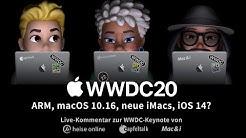 Live-Kommentar zur Apple WWDC 2020 Keynote