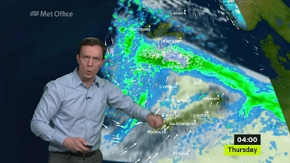 Wednesday mid-morning forecast 22/02/17