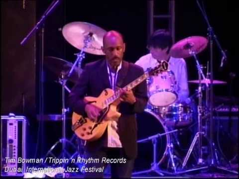 Tim Bowman - Dubai international jazz festival