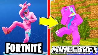 😍 ALL NEW FORTNITE SKINS IN MINECRAFT!!