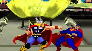 DC Vs Marvel - Thor Vs Superman