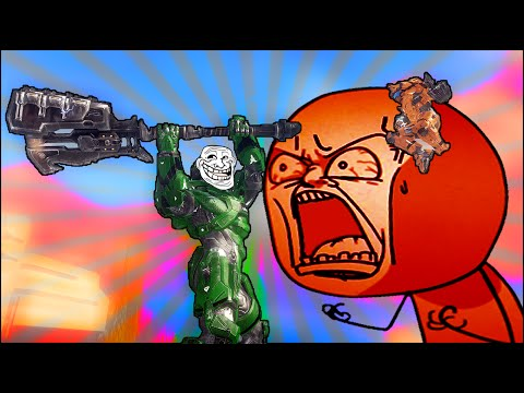 Halo: Trolling A Squeaker 27 (Gravity Hammer)