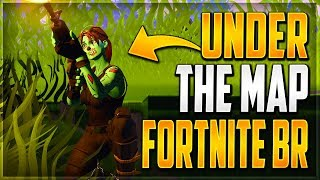 GLITCHES FORTNITE BATTLE ROYALE - NEW UNDER THE MAP WALLBREACH GOD MODE GLITCHES FORTNITE BR