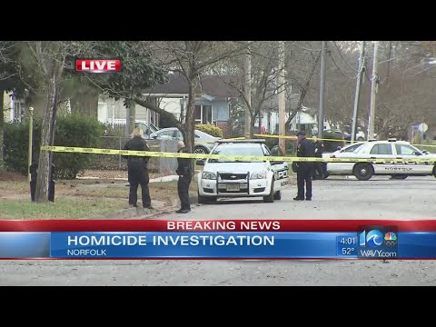 Norfolk police investigating homicide after man dies from gunshot wound