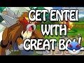 How To Catch Entei With Great Ball - Pokemon Hey Monster