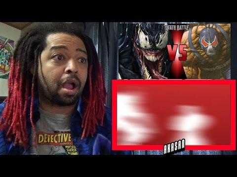 Venom VS Bane (Marvel vs DC Comics) | DEATH BATTLE! | REACTION & REVIEW
