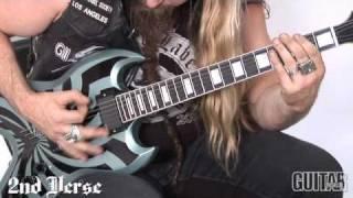"""Zakk Wylde """"Parade of the Dead"""" Guitar Lesson (Part 1)"""