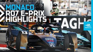 Race Highlights | 2021 Monaco E-Prix | Round 7