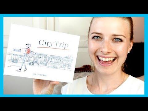 my little box UNBOXING CITY TRIP | April 2018 und live test NXY Glitzer uvm