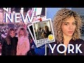 HOW I STYLE MY CURLY HAIR WHEN TRAVELING TO PREVENT FRIZZ + NEW YORK VLOG