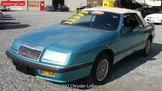 1992 Chrysler LeBaron