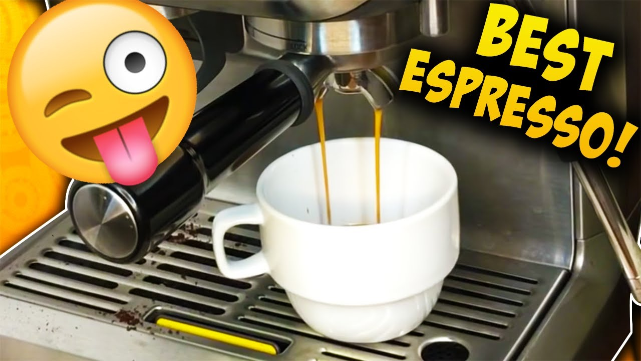 one tip for perfect espresso breville barista express