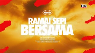 Hindia - Ramai Sepi Bersama (Official Lyric Video)